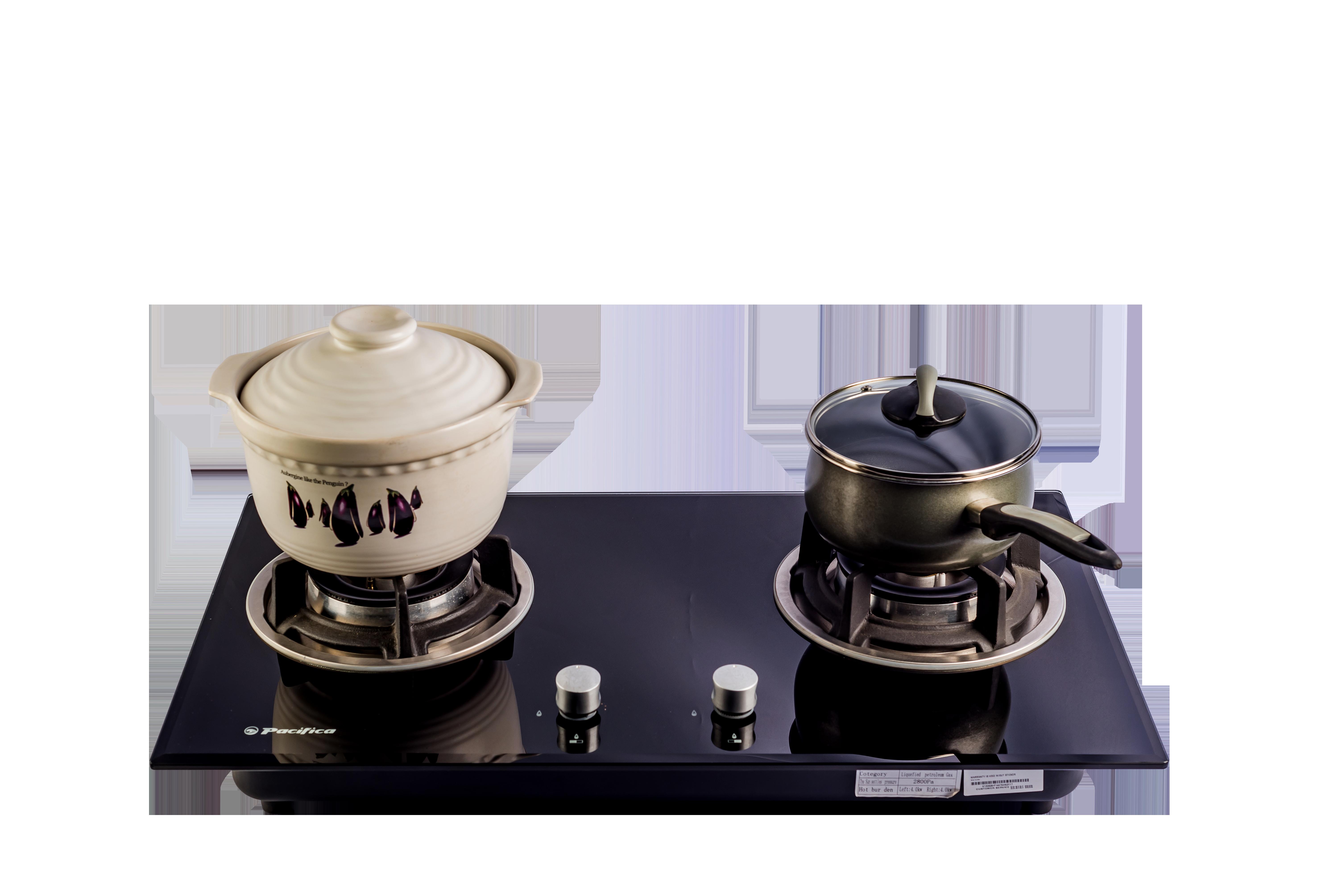 AHN2 Pacifica Calibre Duo 2 Burner Gas Hob